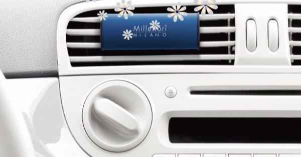 【Millefiori カーエアフレッシュナー】美しいデザインと上質な香り♪ワンランク上の車内芳香剤