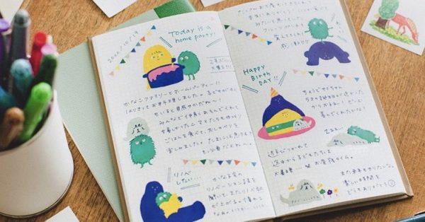 簡単にセンスアップ!!書くことが楽しくなる♡手帳やノートを彩るシールたち【HITOTOKI おおきめシール】
